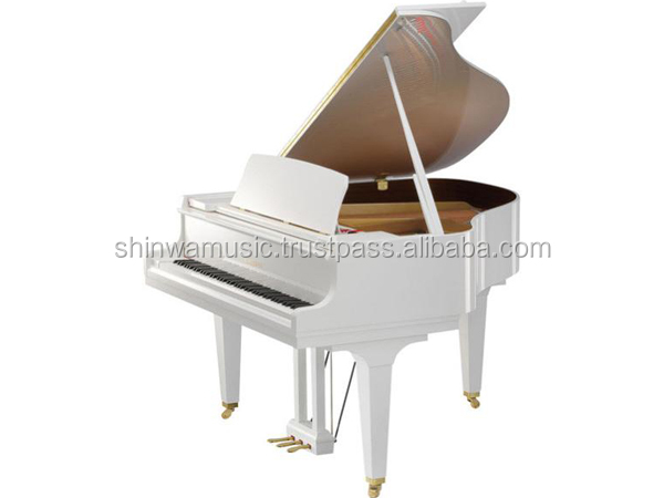 Used KAWAI Baby Grand Piano GM-10LE white polished made in Japan [YAMAHA special agent in Japan]