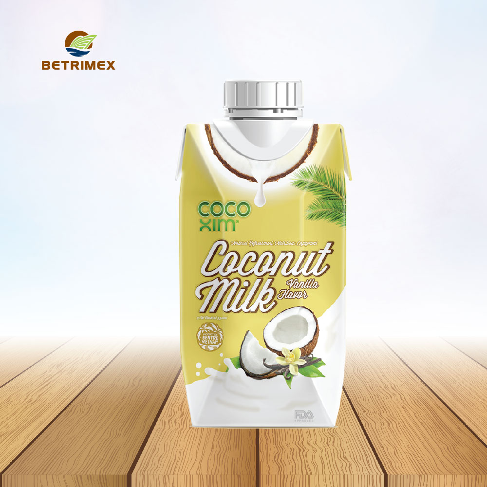 Vanilla flavored coconut milk 330ml