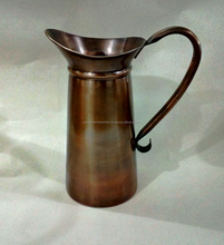 Home and Garden Decor Copper Pitcher
