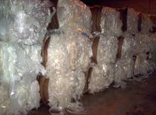 Best price waste clear recycled plastic roll bales ldpe agriculture film scrap