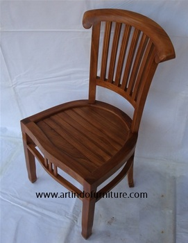 Teak Dining Chair for home - good quality - Teak Indoor chair - Melamine Finishing