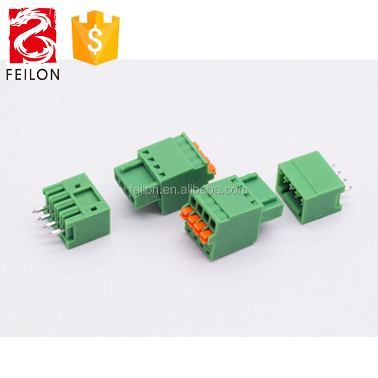 Replace MCV 0.5 15EDGRC-2.5 90 angle pluggable type female 250V/5A terminal block connector
