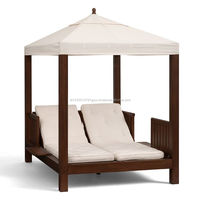 Teak Wood Sun Lounge Furniture With