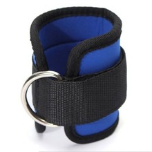 leather weight lifting ankle guard