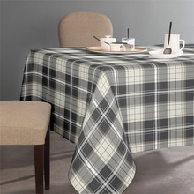 Check Designed Cotton Hand Made Made In India Table Cloth