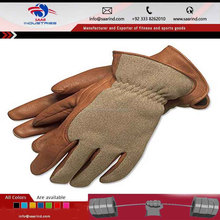 Winter motorcycle glove leather winter hunting shooting gloves