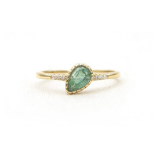 Wholesale Emerald Gemstone Jewelry in 14k Yellow Gold Diamond Rings Jewelry