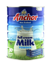 Anchor Full Cream Milk Powder 400gr, 900gr, 2.25kg