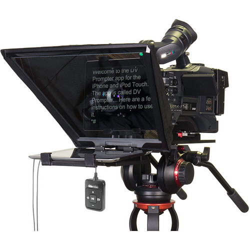 Datavideo TP-650 Prompter and Hard Case Kit for iPad and Android Tablets with Bluetooth Remote