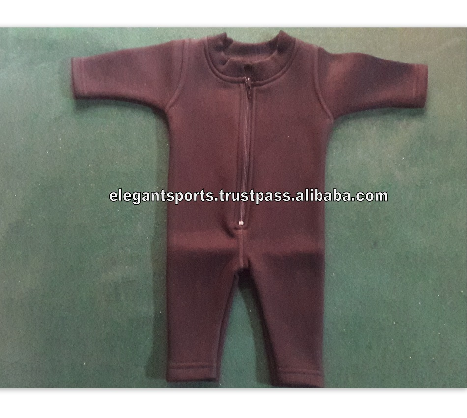 New Born Baby Sweatsuit Fleece suit font zip