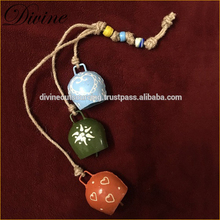 Wholesale Bells and Iron Metal Cow Bell for Home Decoration