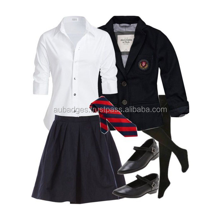 School Uniform with custom logos and embroidery