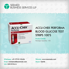 Accu-Chek Performa Diabetic Test Strips / Blood Glucose Test Strips 100 Ct