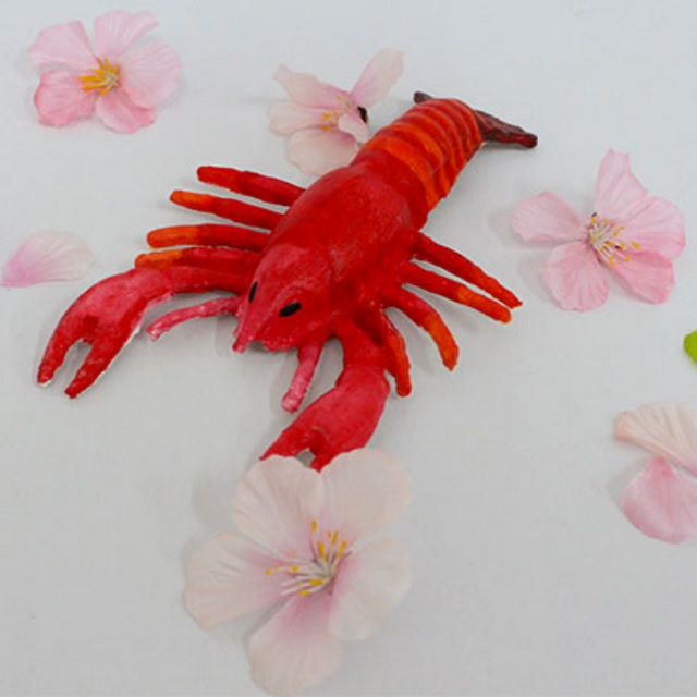 Paper Mache Lobster DIY Colour Paper