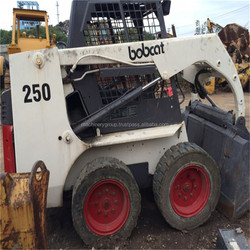 Cheap Price Used Bobcat wheel Loader S250 S150 S160 S175 S550 S300 For Sale , USA Mini Skid Steer Loader