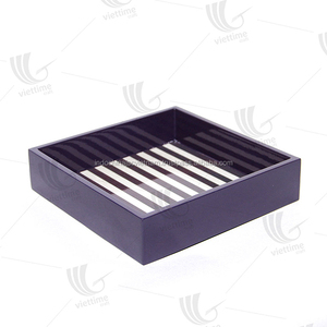 High quality lacquer tray/ painted wood tray/ painted bamboo tray