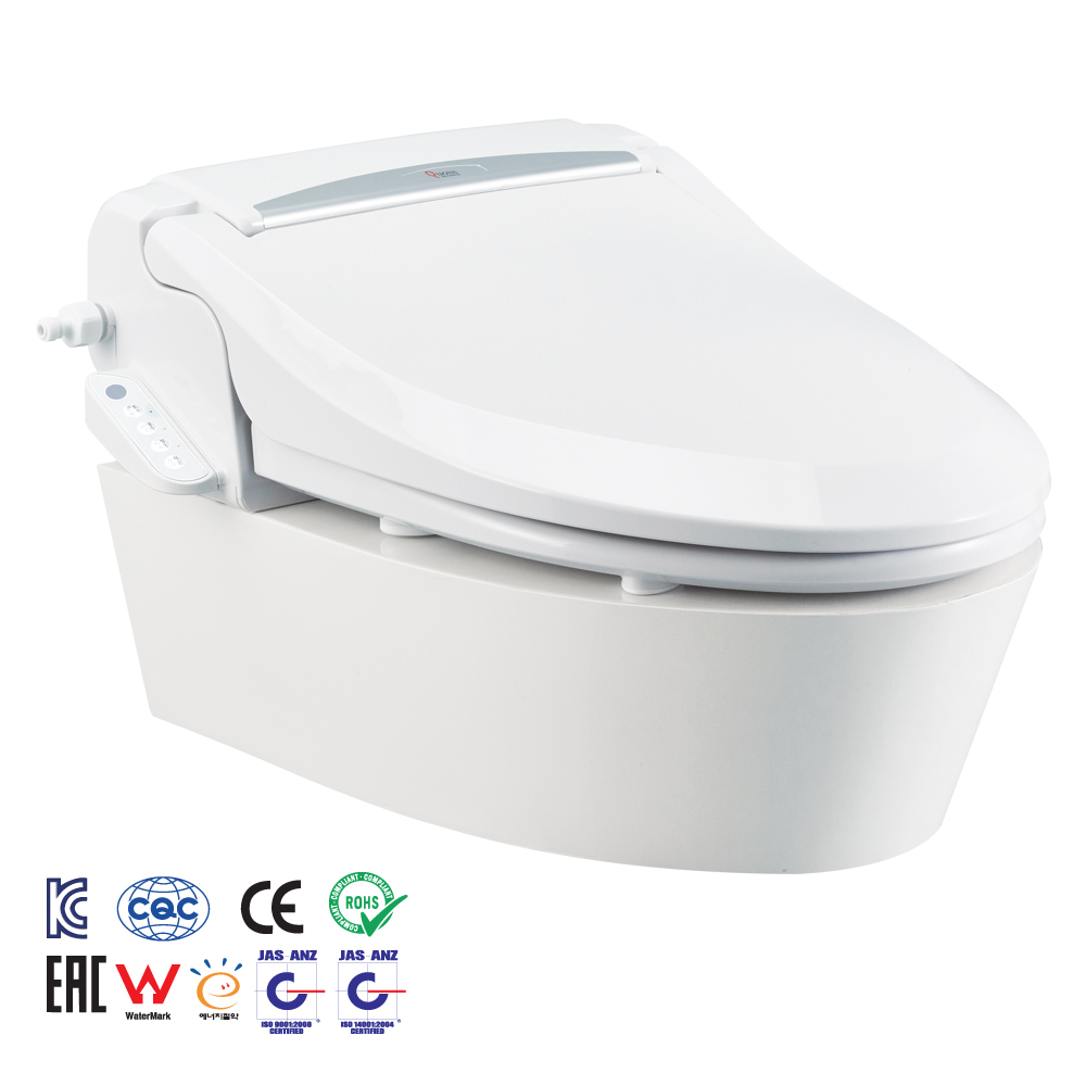 Luxury with remote control instantaneous heating bidet