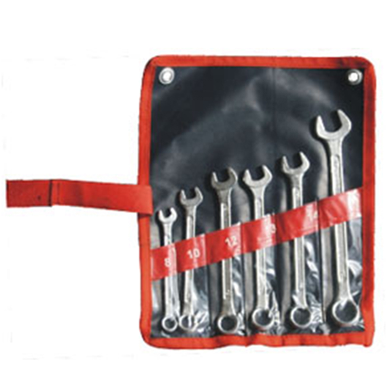 22mm POLISHED NEW COMBINATION SPANNER WRENCH TOOL SET IN EVA FOAM STORAGE 6mm