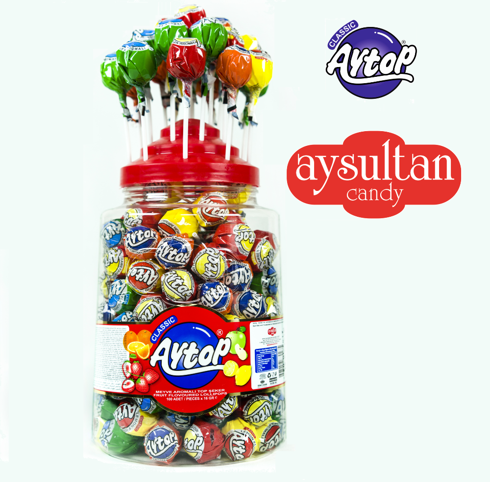 Aytop Classic Lollipop Candy