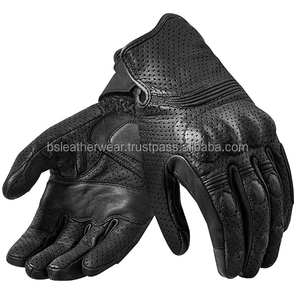 Professional Riding Leather Gloves Motocross Protactive Motorbike Glove