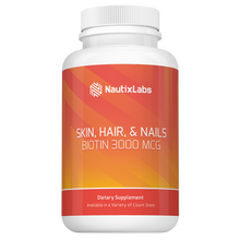 SKIN, HAIR & NAILS WITH BIOTIN 3,000 MCG