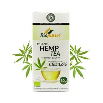 Organic Full Spectrum Hemp Tea Bag