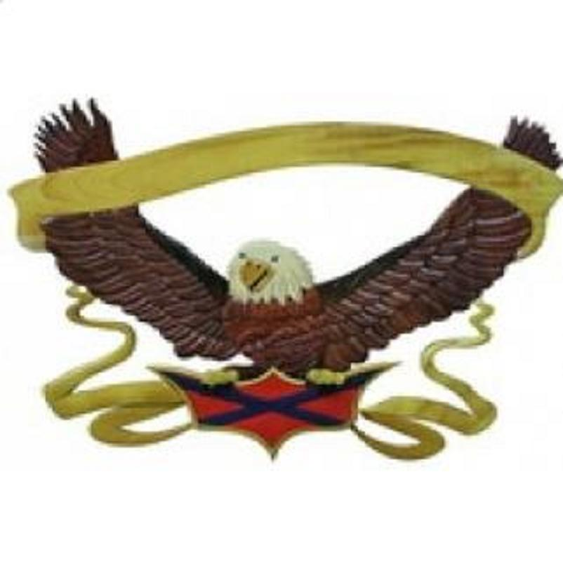 Eagle frame/ wooden wall hanging ( 00941203970669)
