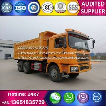 Right hand drive used Shacman F3000 dump tipper truck for sale