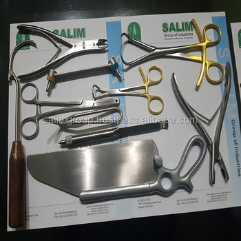 Veterinary Orthopedic Instruments 10 Pieces Assorted Set