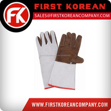Customized Superior Quality Leather Welding Gloves In Cow Grain