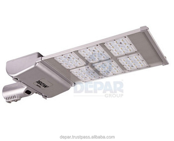 160W LED ROAD LIGHT 85V-265VAC High Brightness and Focus with Optical Lens