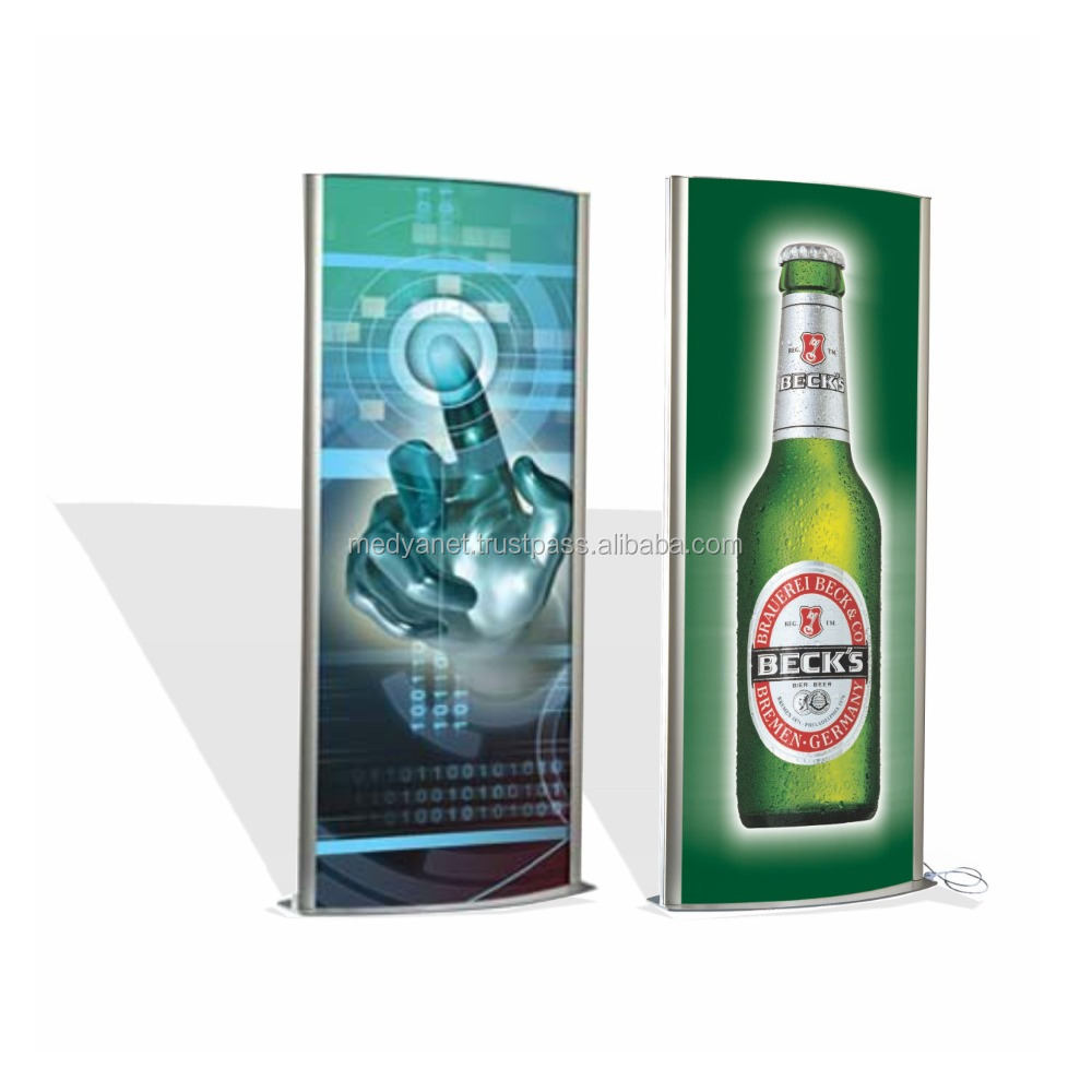Double Sided Lightboxes , Iluminated Display , Poster Board , Totem