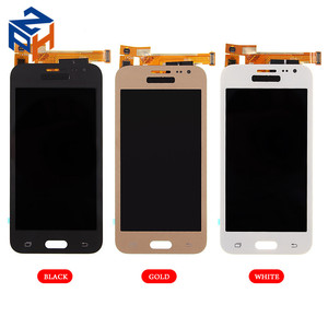 Low Prices China Mobile Phone J2 ekran LCD Touch Screen Combo For Samsung J2 Pantalla Display Gold White Black