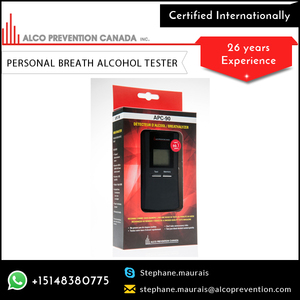 Personal Digital Alcohol Breath Test Breathalyzer at Factory Price