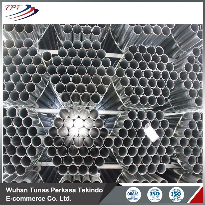 Round Galvanzied Steel Pipe Tube For Greenhouse