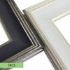 Modern plastic polystyrene mirror picture frame moulding
