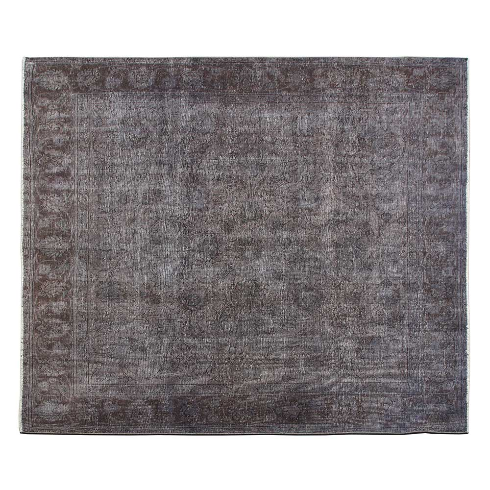 Overdyed Vintage luxury living room area rug with best condition, antique wool interior home design rug
