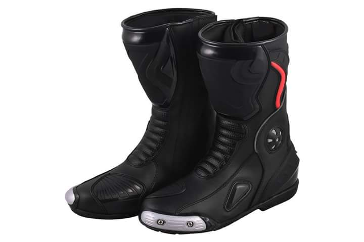 MOTORBIKE SHOES MOTORCYCLE RACING MOTOGP LEATHER BOOTS / SHOES