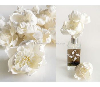 Curl Rose sola flower for reed diffuser home fragrance .
