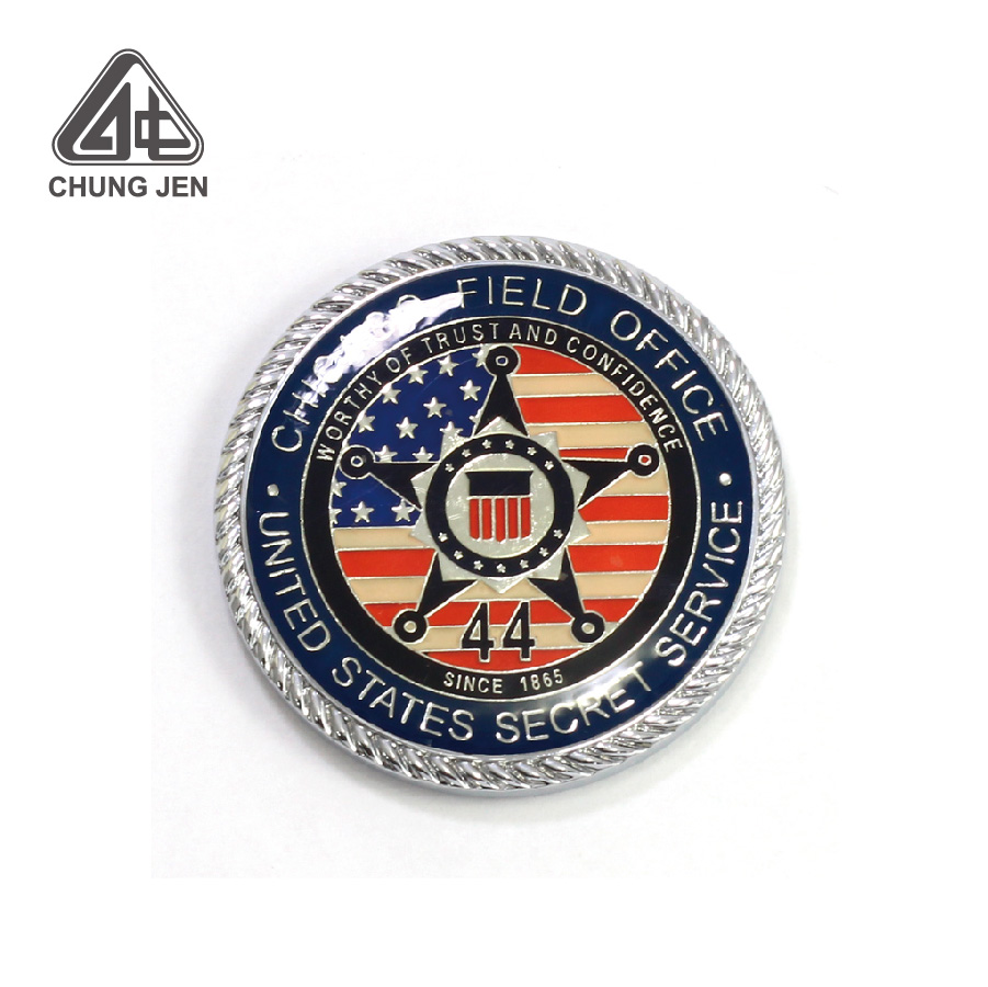 Customized Metal Enamel Novelty Coin for Promotion