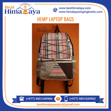 New Product 2017 Hemp Cotton Backpack