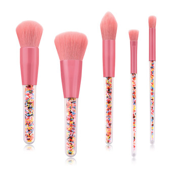 Girl Friend's Gift Synthetic Hair Pink makeup brush