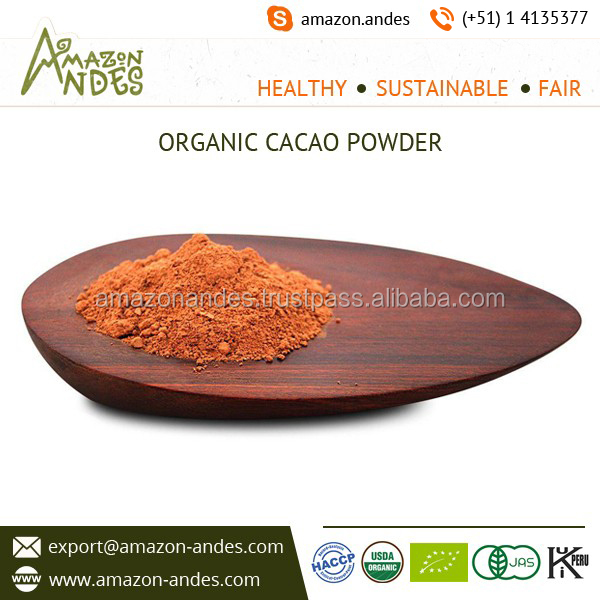 Precisely Processed Organic Raw Cacao Powder for Biscuits Making