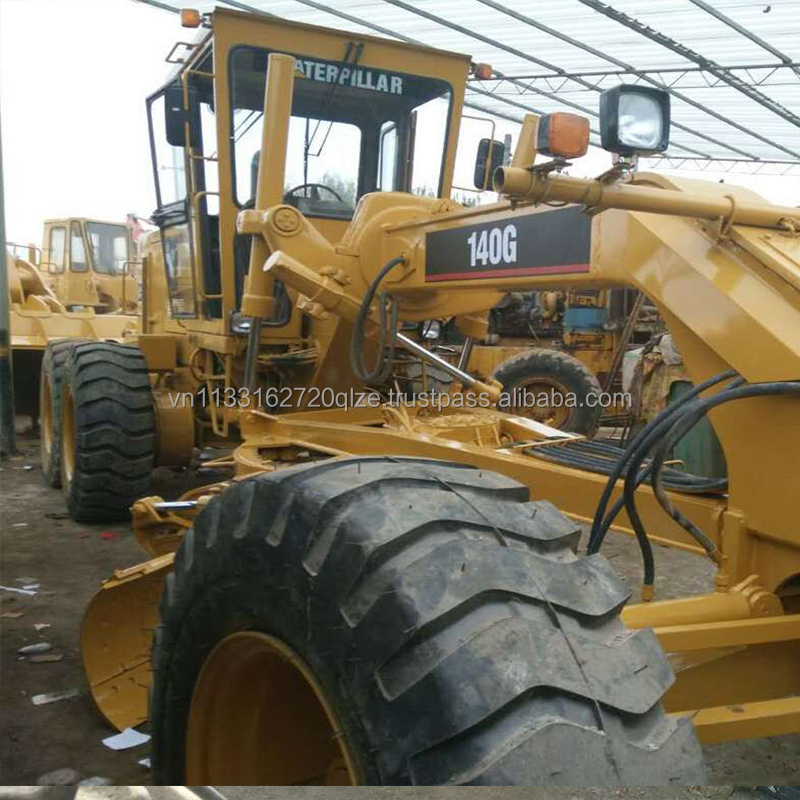 Used cat grader Original Engine with CAT 140G grader Used Construction Machine CAT 140G