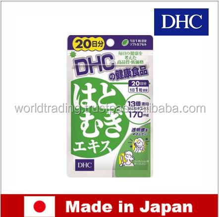 Effective and Healthy vitamin E Hatomugi Extract by DHC made in Japan
