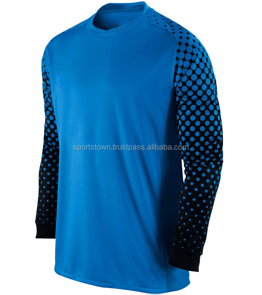 wholesale usa custom thai quality cheap soccer goal keeper uniform jerseys free design