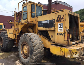 Good quality used cat wheel loader 966D for sale/ cat loader with low price