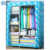 Folding fabric portable bedroom wardrobe home furniture manufacturer