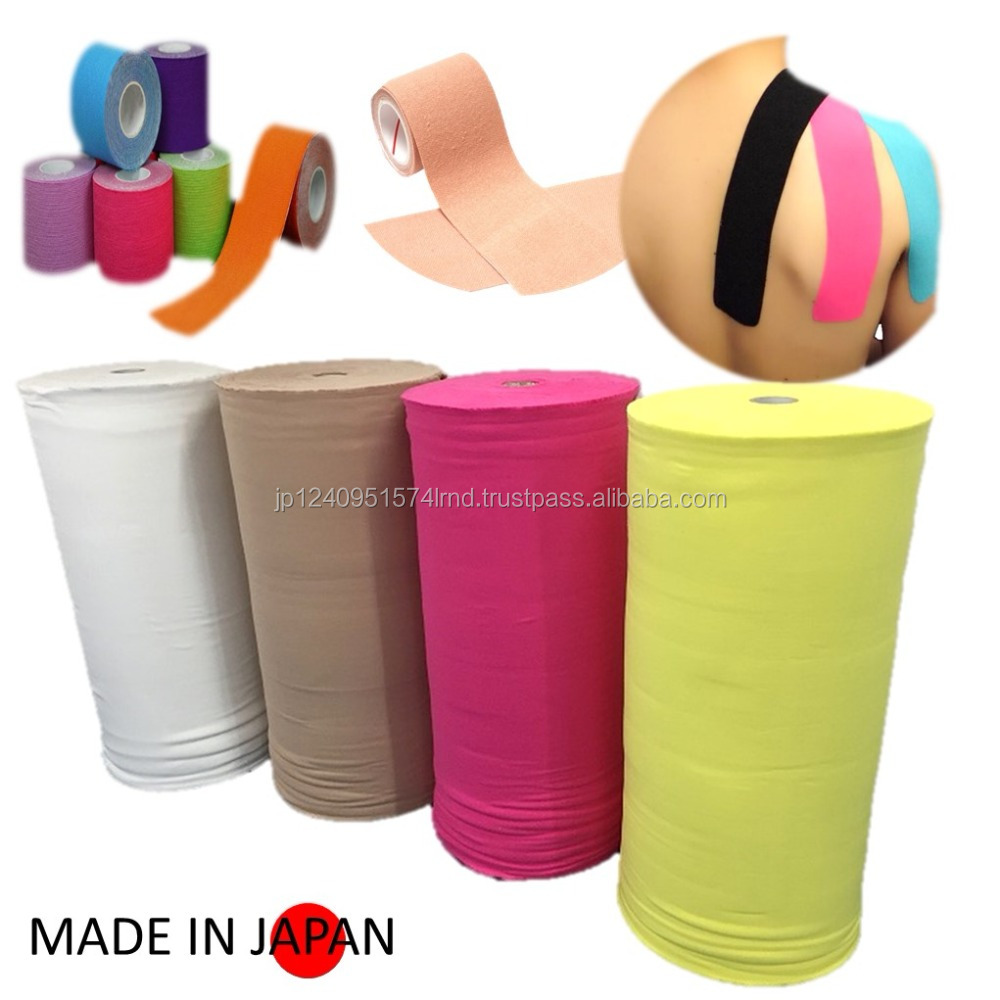 Various colors of sports goods taping fabric for wholesale