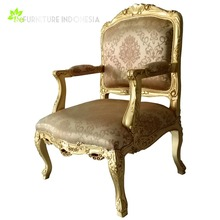 Royal Rose Gold Chair sashes Living Room Java Furniture